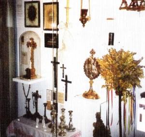 Gegenstände der religiösen Kunst und Volksfrömmigkeit